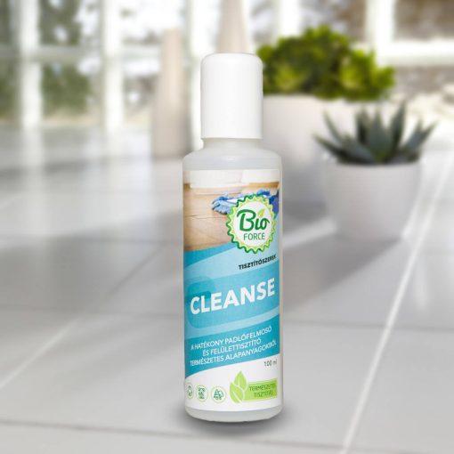 BIOFORCE CLEANSE környezetbarát vegyszermentes csempe- és padlófelmosó felülettisztító, alkalmas laminált parketta tisztítására is
