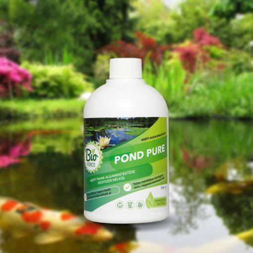 Bioforce POND PURE, kerti tavak vegyszermentes algamentesítése 5000ml